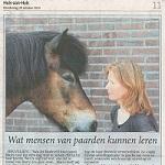 Wat mensen van paarden kunnen leren